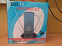 Комнатная антенна ТВ с усилителем PROWEST 3.0119