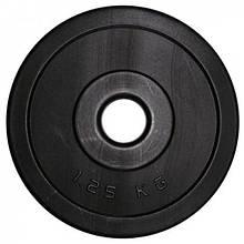 Диск олимпийский композитный в пластиковой оболочке Newt Rock Pro 1,25 кг