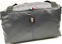 Универсальные сумки КОЖВИНИЛ Ferrari (черный)22*38
