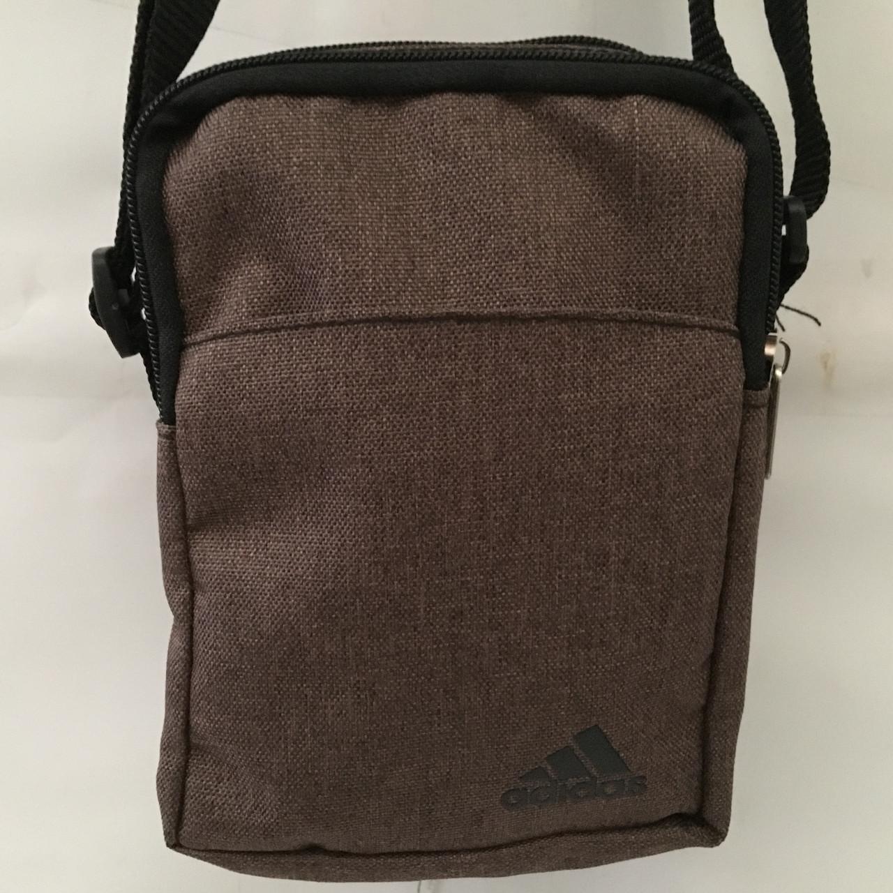 28d5128b4f30 Высококачественная мужская сумка через плече. Удобная, практичная сумка. Мужская  сумка Адидас