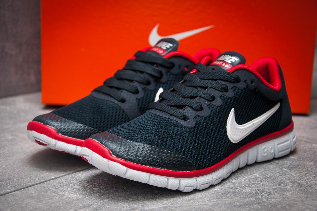 Кроссовки женские Nike Air Free 3.0, темно-синие (12996), р. 36 - 40