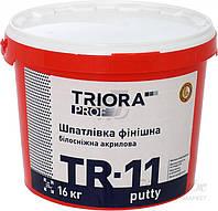 Шпаклівка фінішна Triora TR - 11 putty білосніжна 16 кг