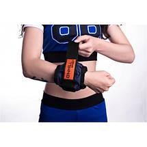 Утяжелители для рук и ног 6 кг пара (2*3 кг) вес регулируется, фото 2