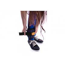 Утяжелители для рук и ног 6 кг пара (2*3 кг) вес регулируется, фото 3