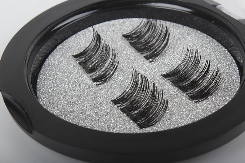 Магнитные ресницы 1 магнит на уголки OPT 3 шт.
