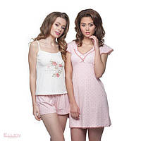 Сорочки нічні жіночі та домашні плаття 10  Жіночі піжами та комплекти з  шортами 8c297fe61e482
