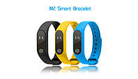 Фитнес браслет Bingo Smart Band M2. Спортивные часы со съемным ремешком. Пульсометр, шагометр
