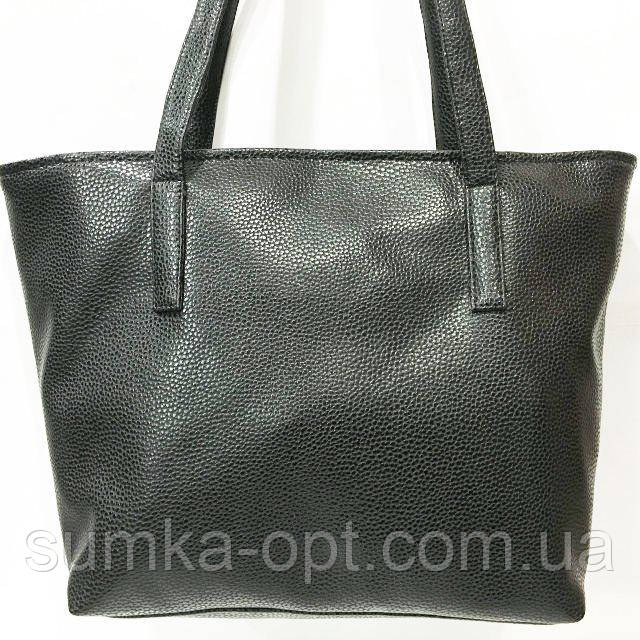Универсальные сумки КОЖВИНИЛ (черный)31*46
