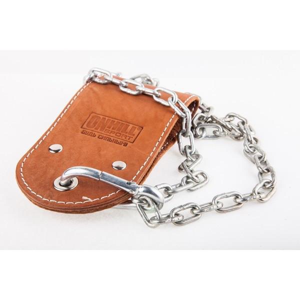 Ремешок кожаный для отягощения на пояс