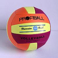 Волейбольный мяч. Пресс-кожа. № 3151.