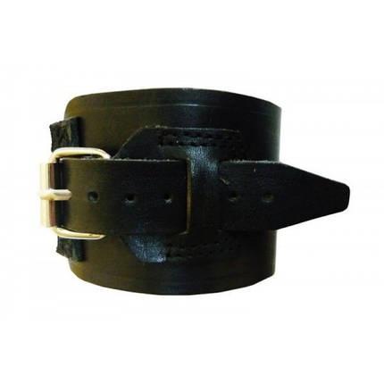 Фиксатор кистевой кожаный (напульсник), размер  M, фото 2