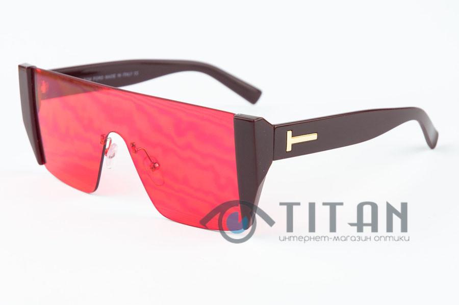 Очки Солнцезащитные женские TOM FORD 97375 RED
