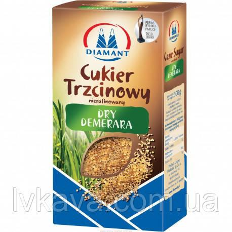 Тростниковый сахар Dry Demerara Diamant, 500 гр