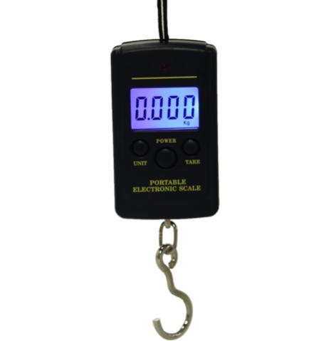 Кантер электронный ручной 20г - 40 кг весы