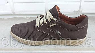 Летние весенние мужские кроссовки ecco