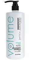 Безсульфатный шампунь для объема волос с кератином Organic Keragen Volumizing  Shampoo, 946 мл