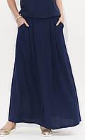 Женская юбка Latia Zaps темно-синего цвета, коллекция весна-лето, фото 1