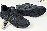 Кроссовки мужские трекинговые Bona Бона синие Размеры 41, фото 1