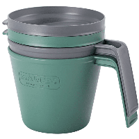 Набор кружек Stanley Adventure eCycle зеленый, 2*470 мл