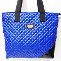 Стеганные сумки оптом (синий)34*44, фото 1