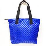Стеганные сумки оптом (серый)34*44, фото 3