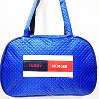 Стеганные сумки оптом Tommy Hilfiger (синий)29*44