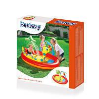 Игровой центр-Детский бассейн и душ.Intex