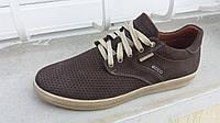 Кожаные кроссовки ecco 4144
