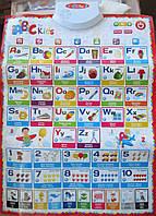 """Алфавит.Обучающий плакат """"Букварёнок"""",на английском языке"""