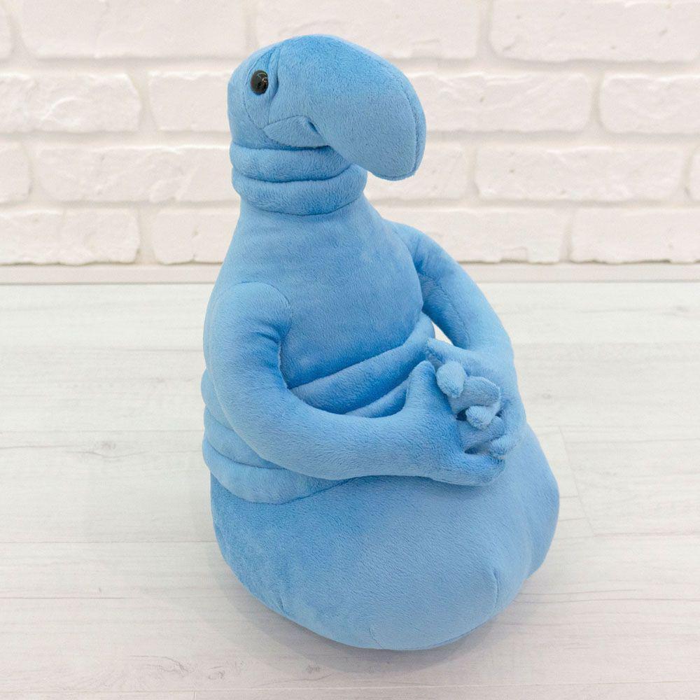 Мягкая игрушка ждун, почекун голубого цвета (22 см.)