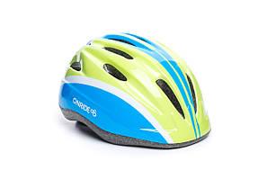 Шлем OnRide Clip зеленый/голубой