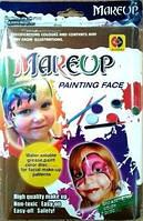Фарби д/обличчя (пензлик , олівець) кор. 3+