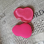 Спонж для макияжа силикон+латекс CSP-691 двусторонний, фото 4