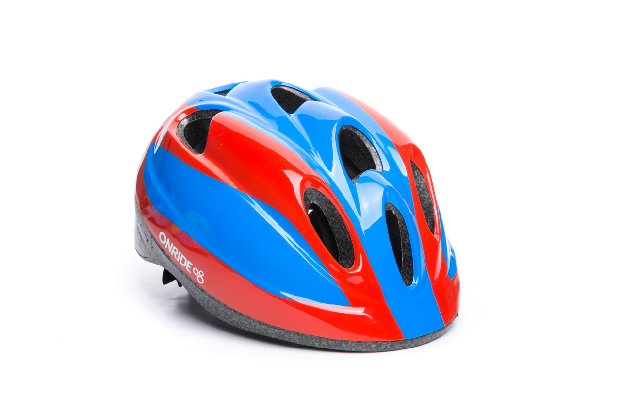 Шлем OnRide Spider красный/синий