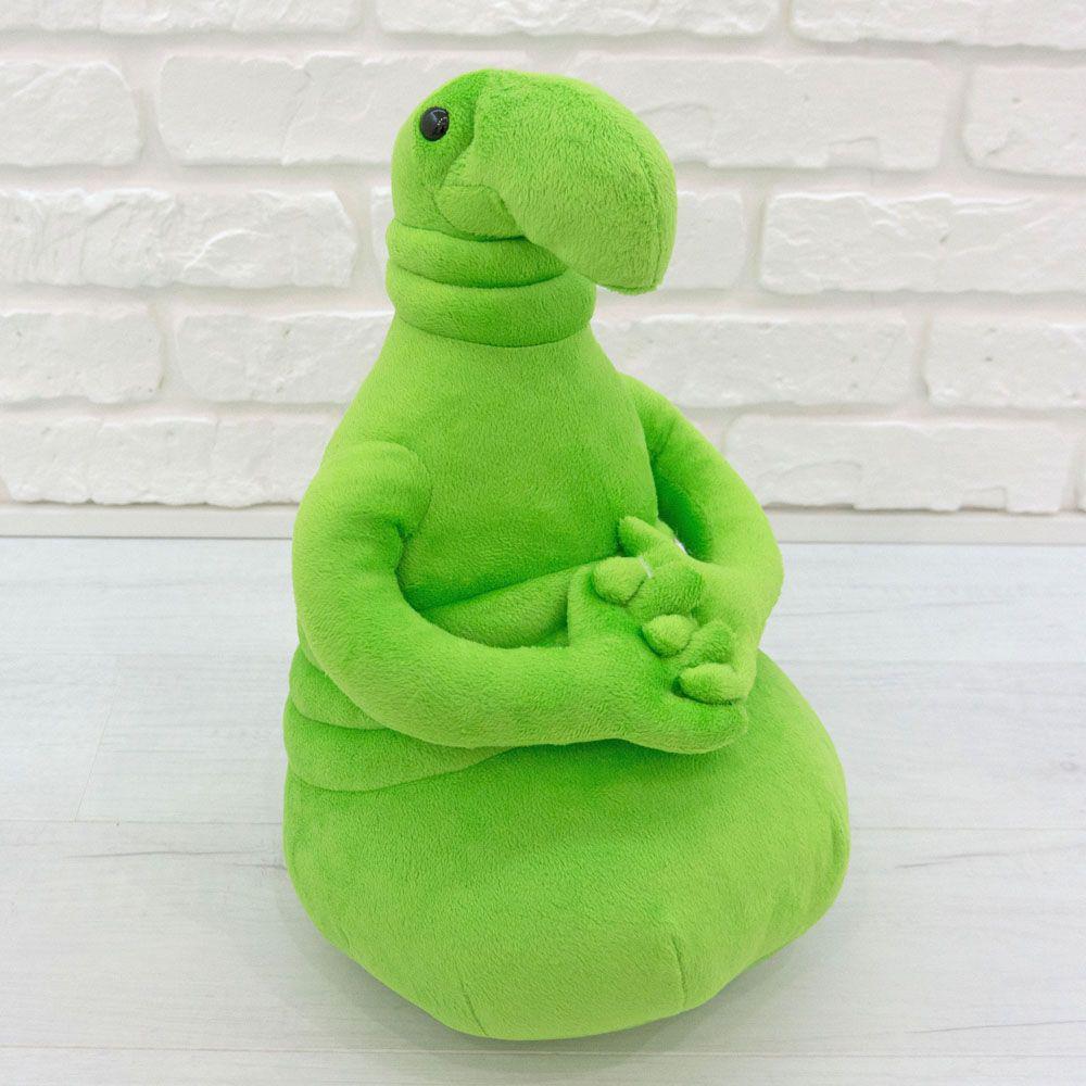 Мягкая игрушка ждун, почекун зеленого цвета (22 см.)