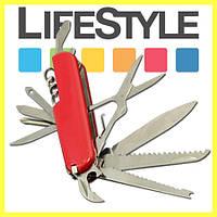 Швейцарский многофункциональный складной нож 7 в 1, фото 1