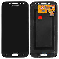 Дисплей (экран) для телефона Samsung Galaxy J5 J530F 2017, Galaxy J5 Pro J530 2017 + Touchscreen Original Black