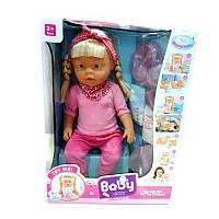 Пупс Baby со звуком для девочки интерактивный, 7 функций