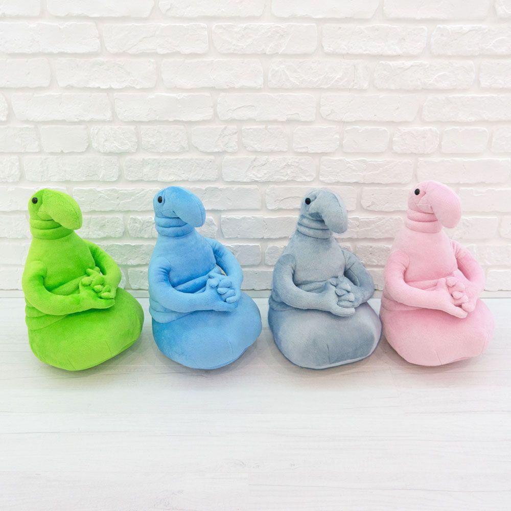 Семья ждунов: розовый, голубой, серый, зеленый ждун (4 шт. - 20 см.)