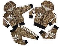 """Костюм """"Adidas"""" с бриджами, рост 92-122"""