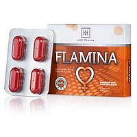 LHX Возбуждающие таблетки для женщин Flamina 4шт