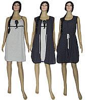 Комплект домашний Marviol 02115, ночная рубашка и халат на молнии, р.р.42-56