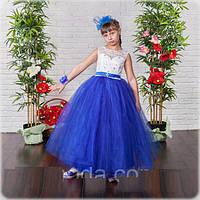 Праздничное длинное платье  для девочек