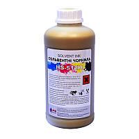Сольвентные чернила HS-512H, Yellow, 1л. (Konica 512 14pl)