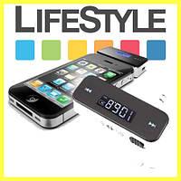 Авто FM модулятор Transmitter для телефонов MP3 трансмиттер + USB, фото 1