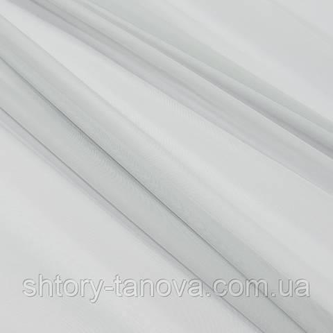 Тюль вуаль, серый