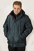 Куртка чоловіча зимова сіра Avecs AV7342694B баталов Розміри 58 60 62
