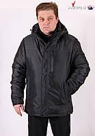 Куртка мужская Avecs AV7342693B баталы Dark gray Авекс Размеры 56 58 60 62