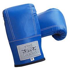 Снарядні рукавички Thai Professional BGA6 Сині