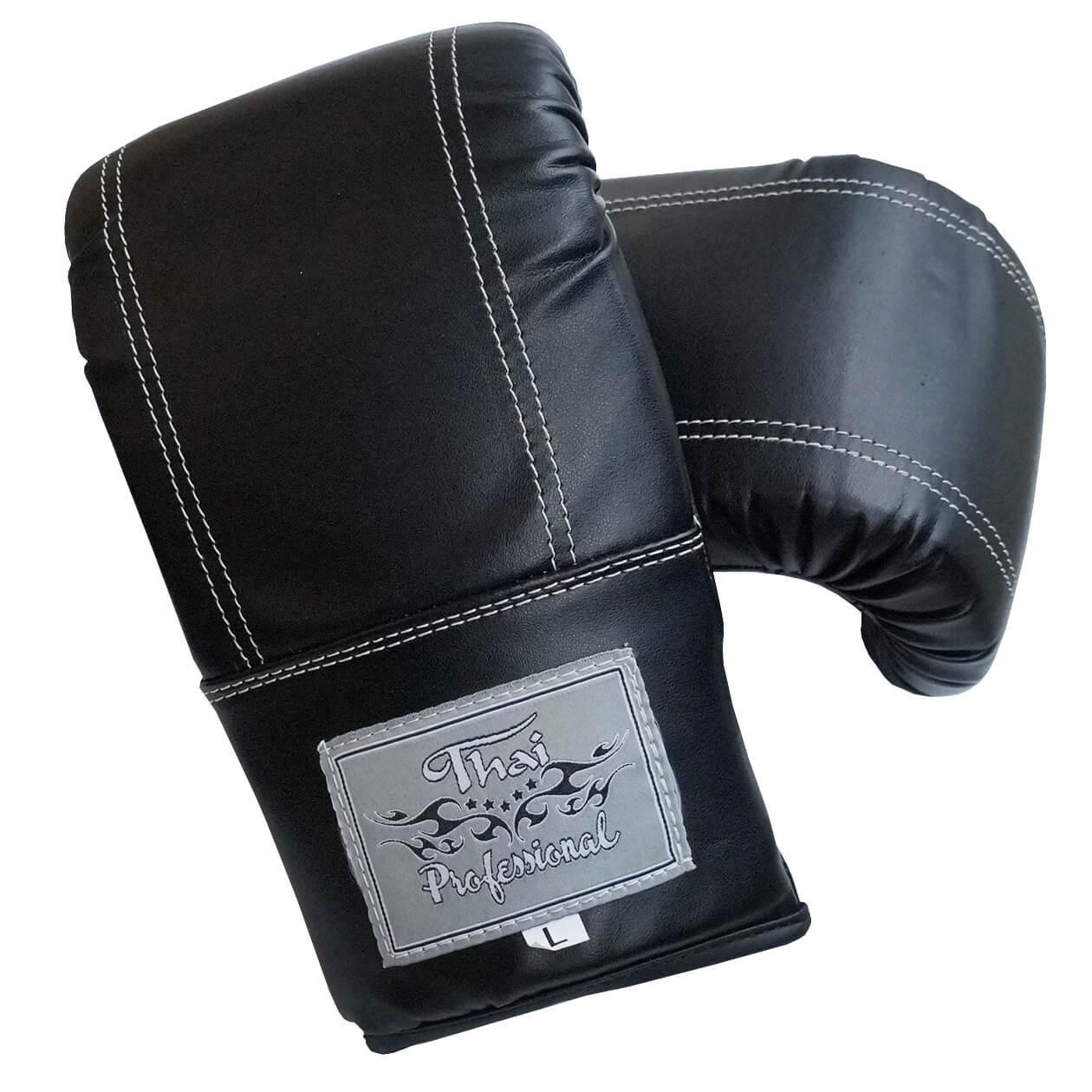 Снарядные перчатки Thai Professional BGA6 Черные